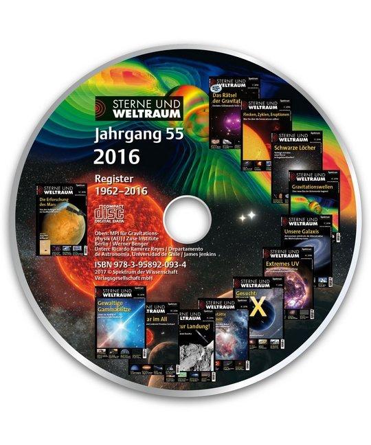 Sterne und Weltraum Jahrgang 55 CD-ROM 2016