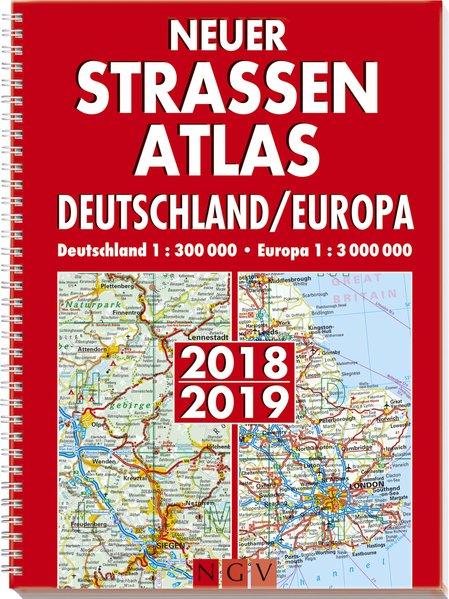 Neuer Straßenatlas Deutschland/Europa 2018/2019 als Buch