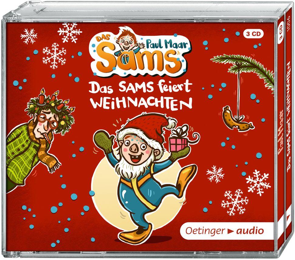 Das Sams feiert Weihnachten (3 CD) als Hörbuch