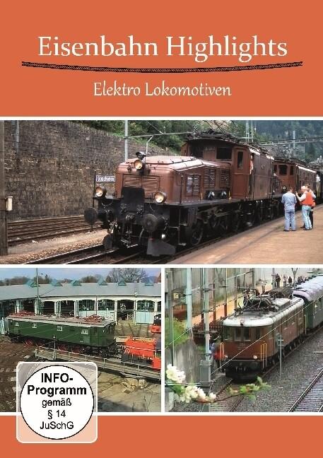 Eisenbahn Highlights Elektro Lokomotiven