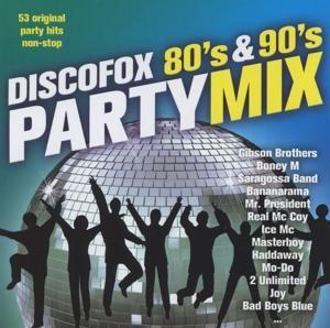 DISCOFOX 80´s & 90´s PARTY MIX