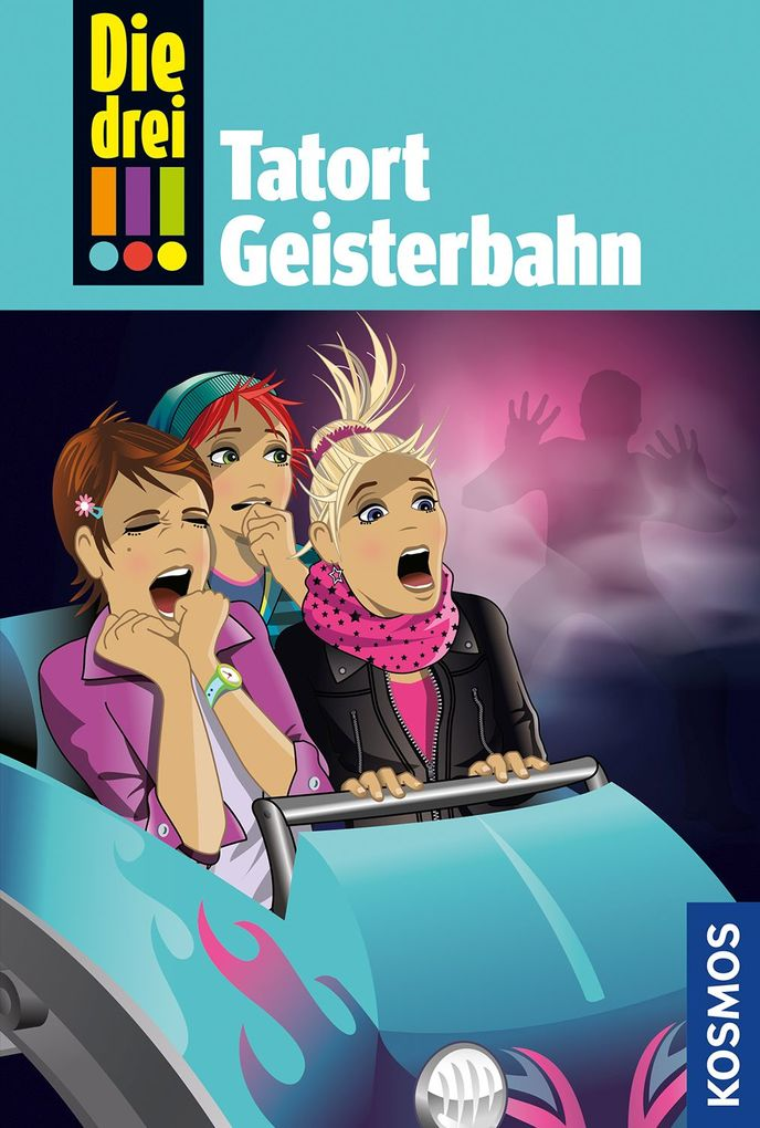 Die drei !!!, 67, Tatort Geisterbahn als Buch