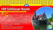 BVA 100 Schlösser Route Radwanderkarte 1:75.000