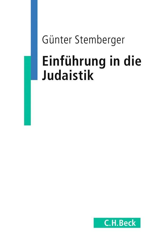 Einführung in die Judaistik als Buch (kartoniert)