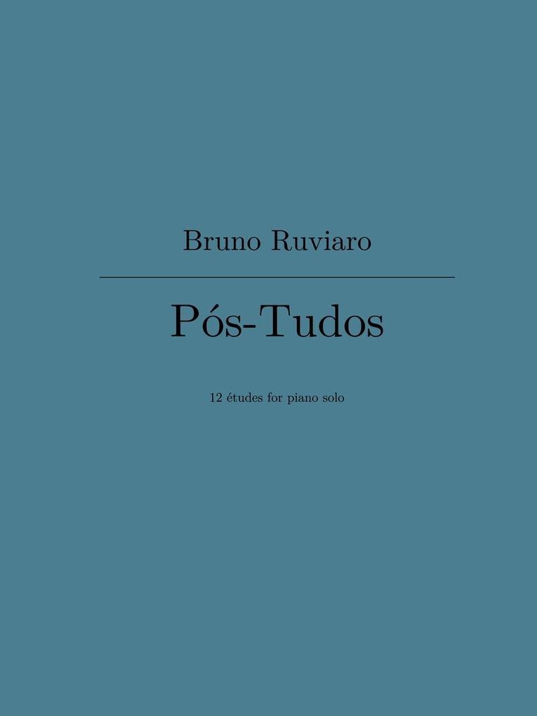 Pos-Tudos (12 etudes for piano solo) als Tasche...