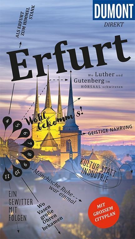 DuMont direkt Reiseführer Erfurt als Buch von U...