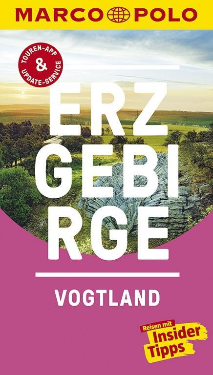 MARCO POLO Reiseführer Erzgebirge, Vogtland als Buch