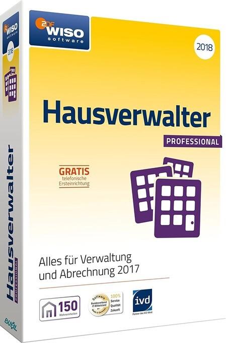 WISO Hausverwalter 2018 Professional, 1 CD-ROM