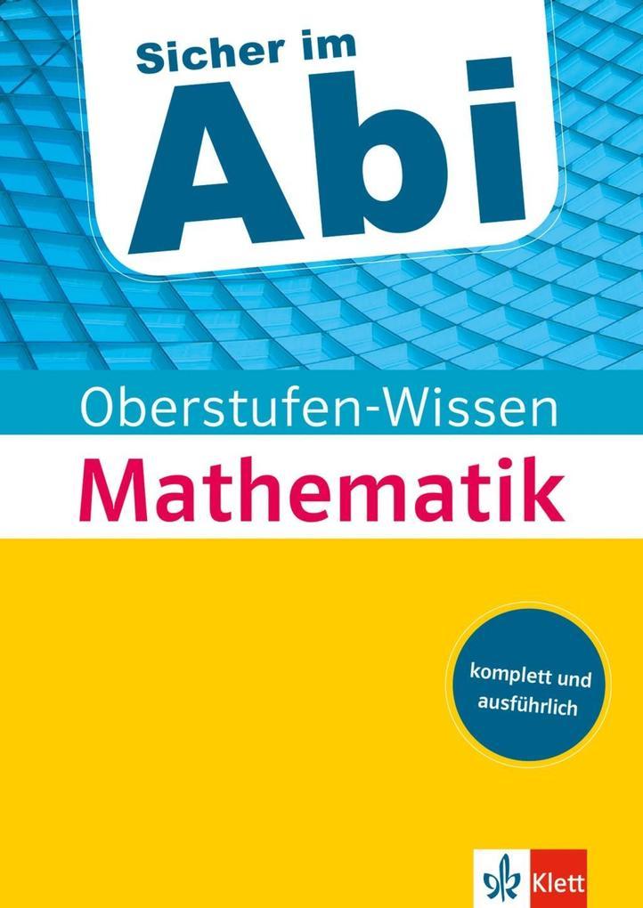 Sicher im Abi Oberstufen-Wissen Mathematik als ...