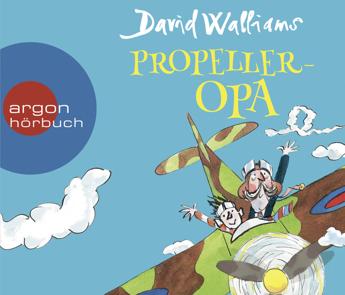 Propeller-Opa als Hörbuch CD von David Walliams