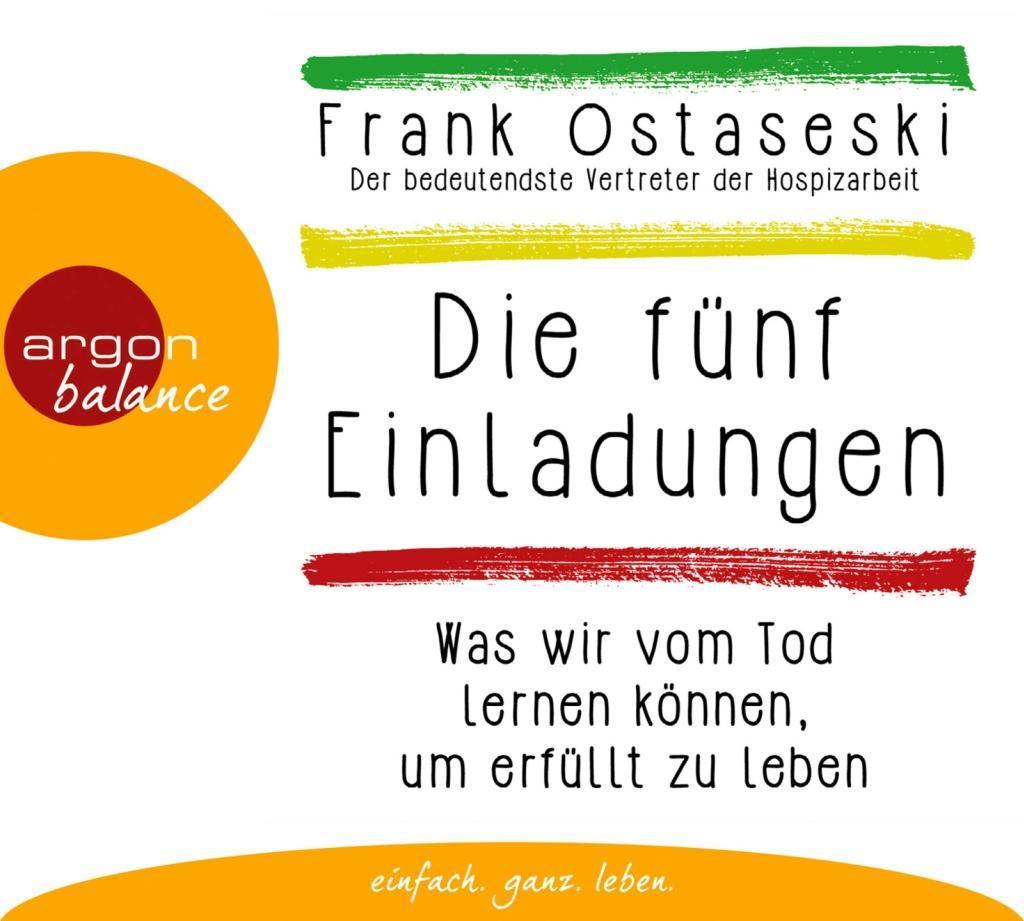 Die fünf Einladungen als Hörbuch CD von Frank O...