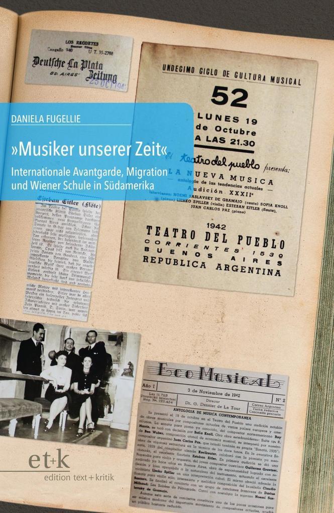 Musiker unserer Zeit als Buch von Daniela Fugel...