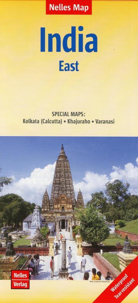 Nelles Map India: East 1:1 500 000 als Buch von