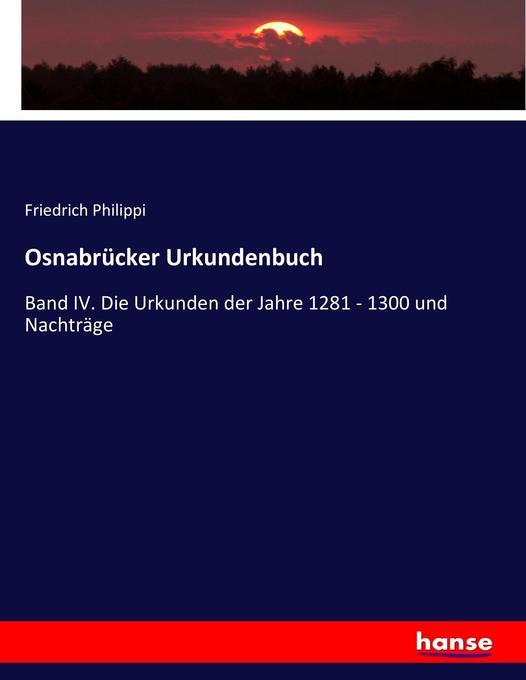 Osnabrücker Urkundenbuch als Buch von Friedrich...