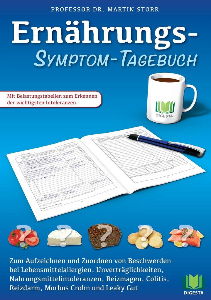 Ernährungs-Symptom-Tagebuch als Buch (kartoniert)