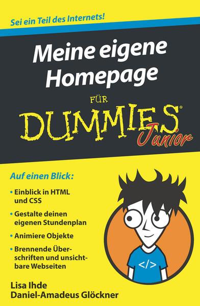 Meine eigene Homepage für Dummies Junior als Bu...