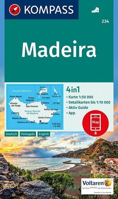 Madeira 1:50 000 als Buch von