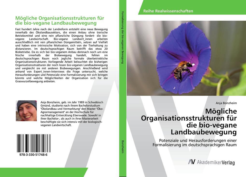 Mögliche Organisationsstrukturen für die bio-ve...