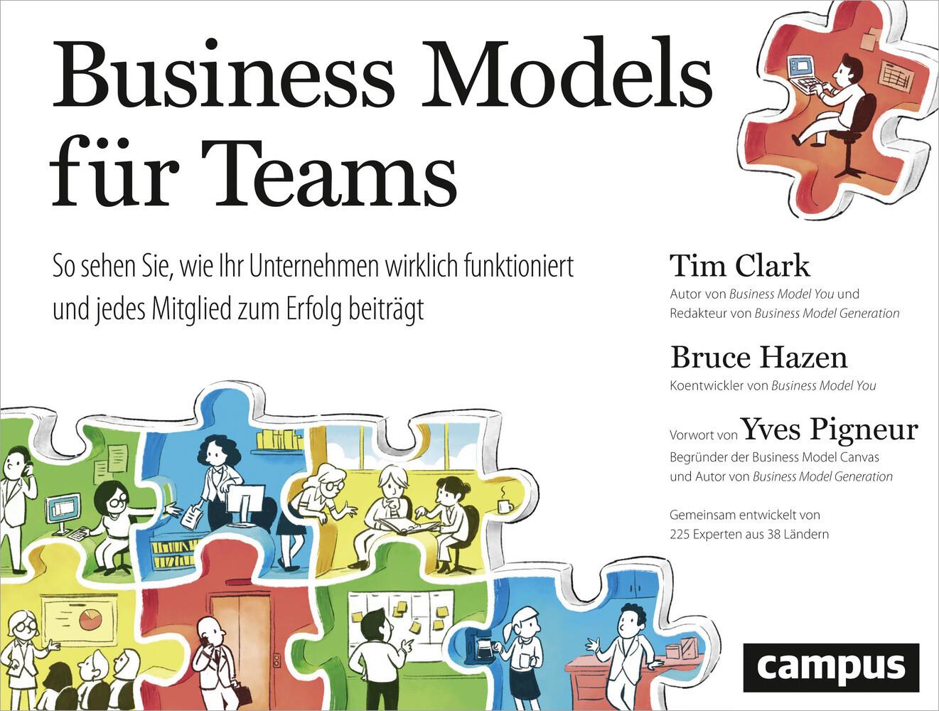Business Models für Teams als Buch