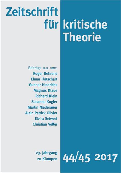 Zeitschrift für kritische Theorie als Buch
