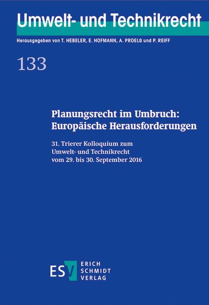 Planungsrecht im Umbruch: Europäische Herausfor...