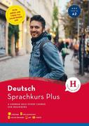 Hueber Sprachkurs Plus Deutsch A1/A2, Englische Ausgabe