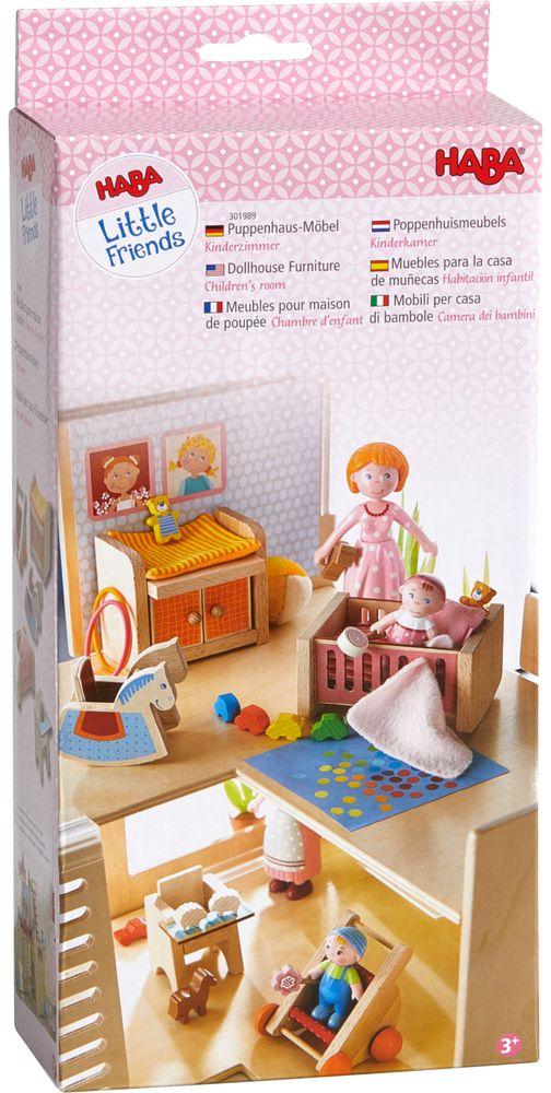 HABA - Little Friends - Puppenhaus Kinderzimmer