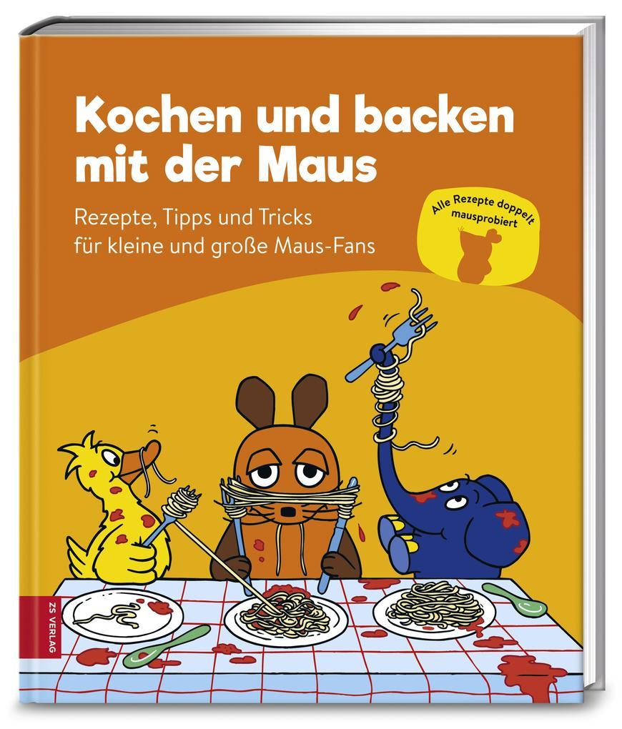 Kochen und backen mit der Maus als Buch