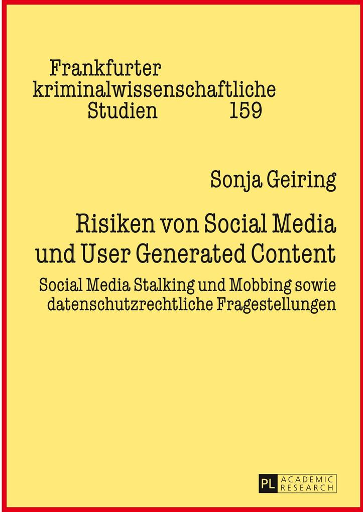 Risiken von Social Media und User Generated Con...