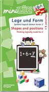 miniLÜK. Spielend logisch denken lernen 2. Lage und Form