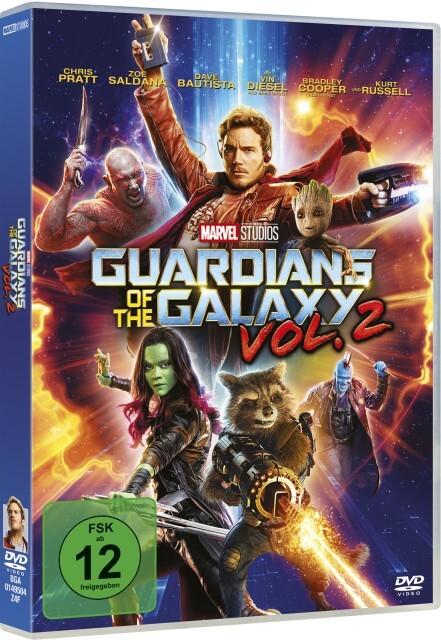 Guardians of the Galaxy Vol. 2 als DVD