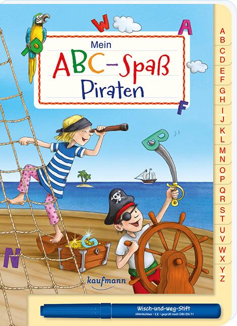 Mein ABC-Spaß Piraten als Buch von