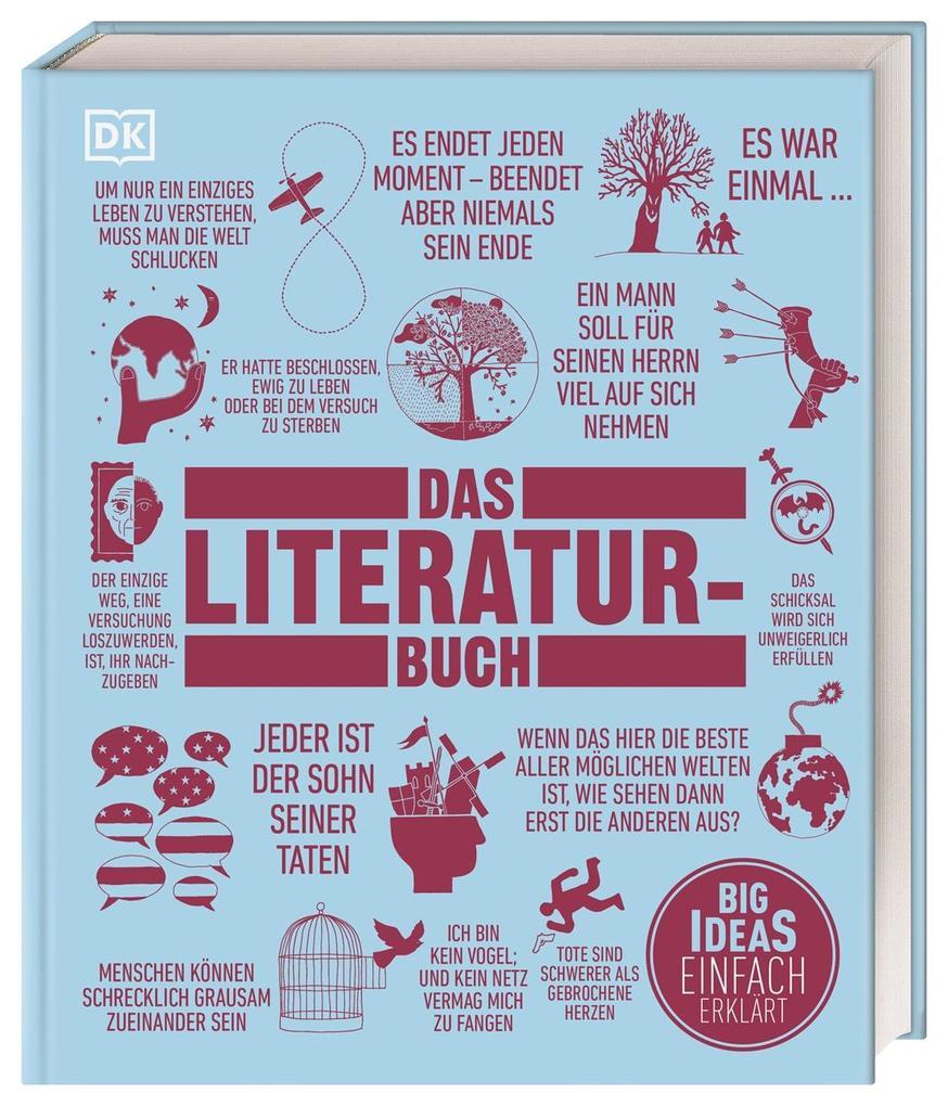 Das Literatur-Buch als Buch (gebunden)