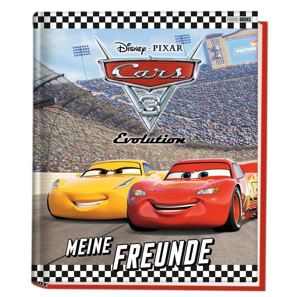 Disney Cars 3: Meine Freunde als Buch von