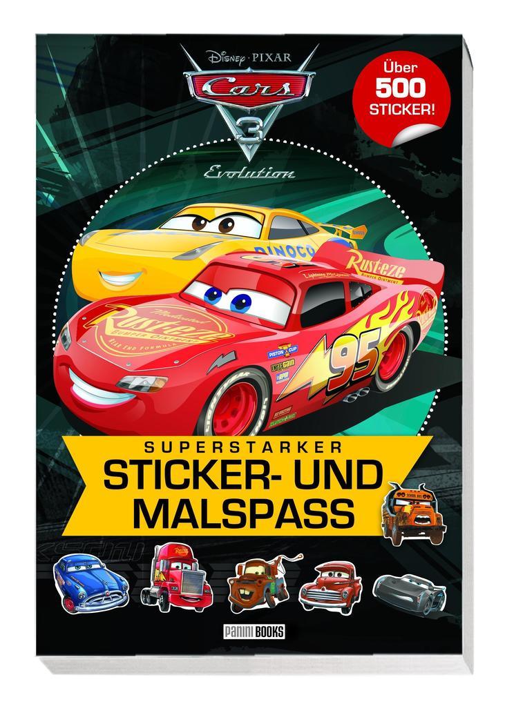 Disney Cars 3 Superstarker Sticker Und Malspass