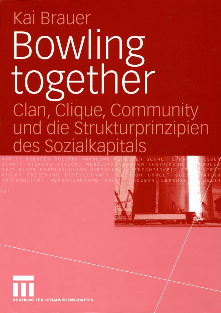 Bowling together als Buch von Kai Brauer
