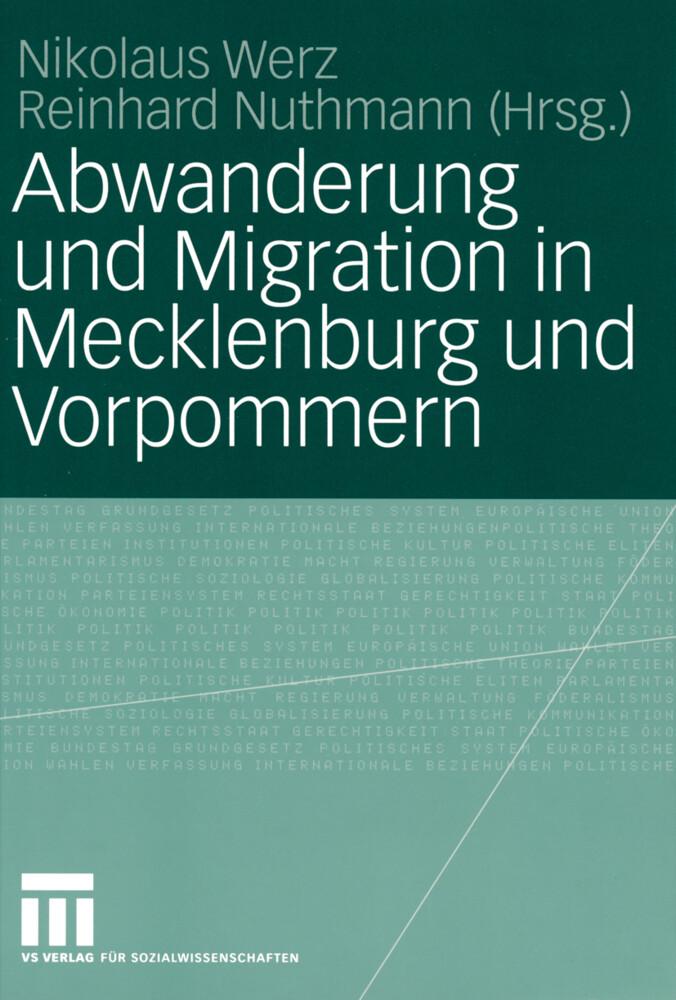 Abwanderung und Migration in Mecklenburg und Vorpommern als Buch (kartoniert)
