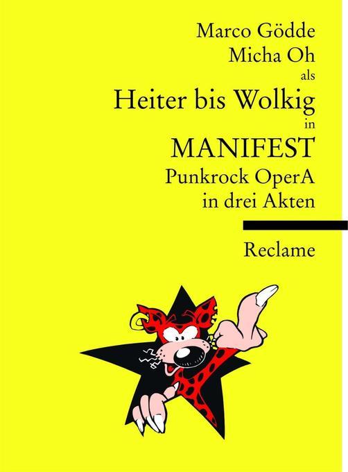 MANIFEST als Buch von Marco Gödde, Micha Oh, He...