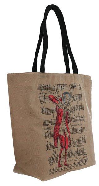 Shopping-Tasche Mozart natur
