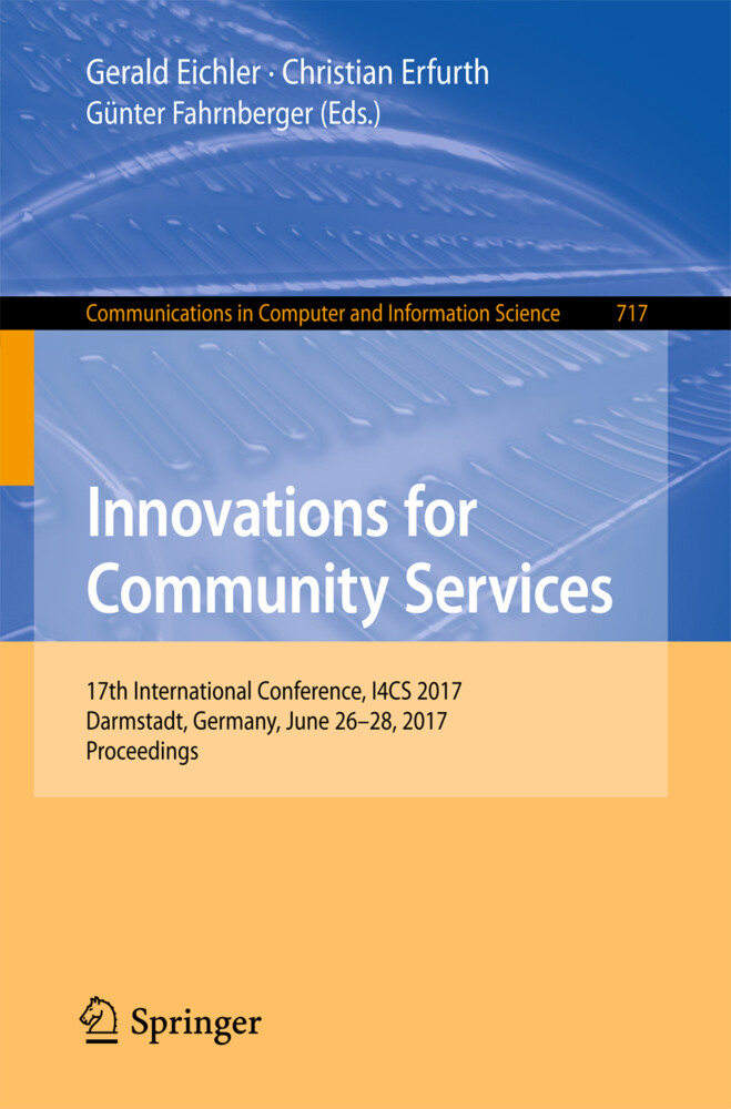 Innovations for Community Services als Buch von