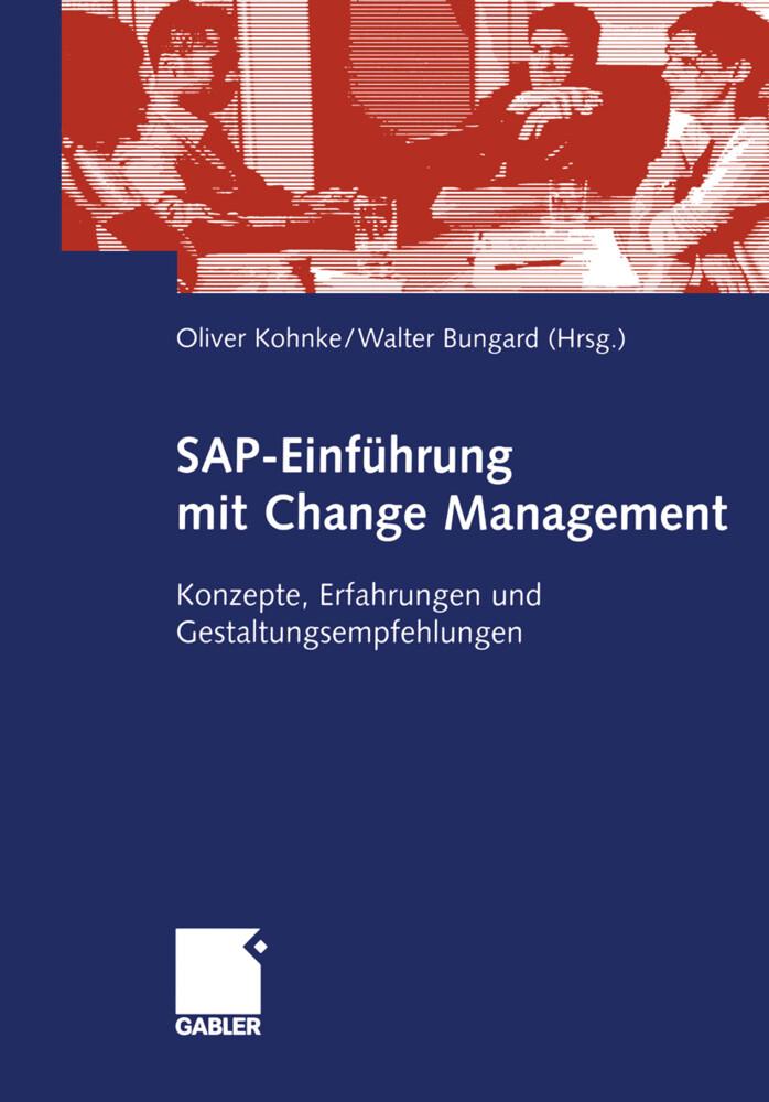 SAP-Einführung mit Change Management als Buch von