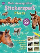Mein riesengroßer Stickerspaß. Pferde