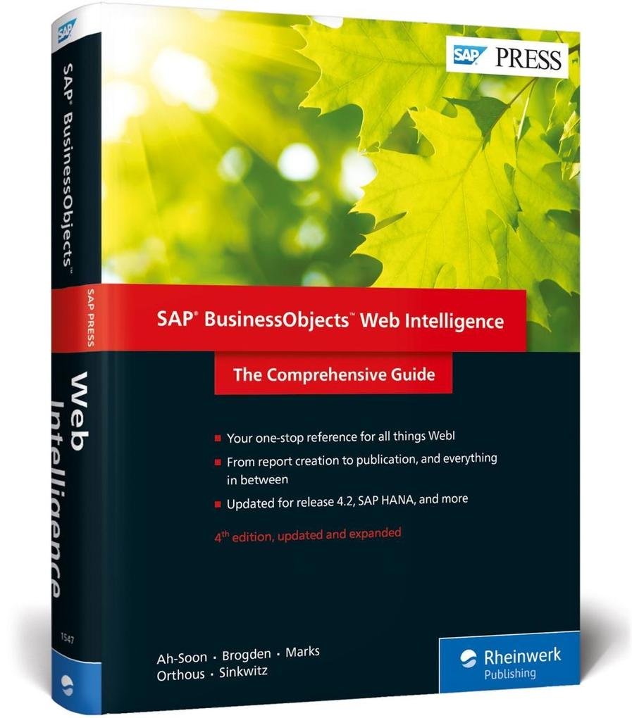 SAP BusinessObjects Web Intelligence als Buch v...