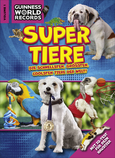 Guinness World Records Super Tiere Vol. 1 als Buch