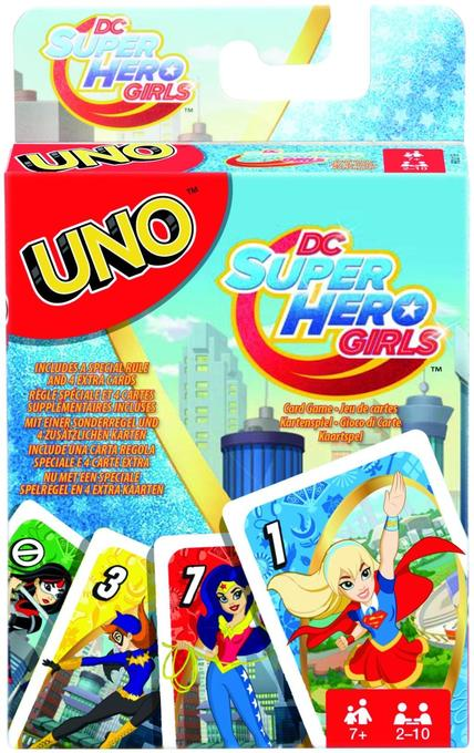 UNO DC Super Hero Girls