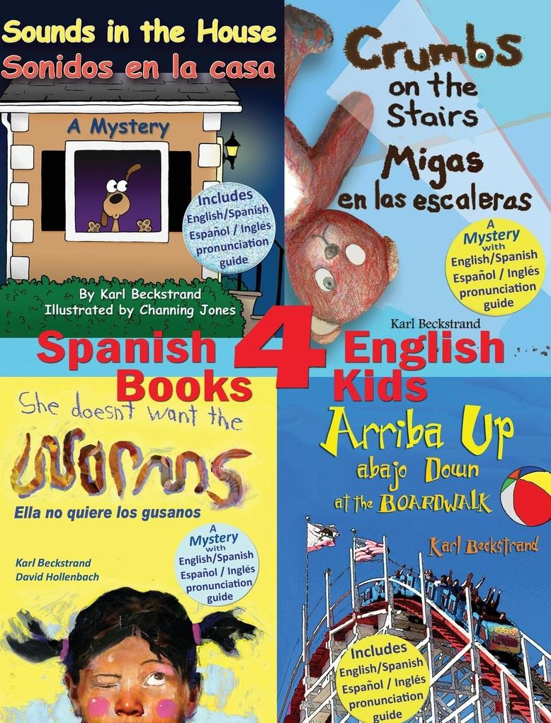 4 Spanish-English Books for Kids als Buch von K...