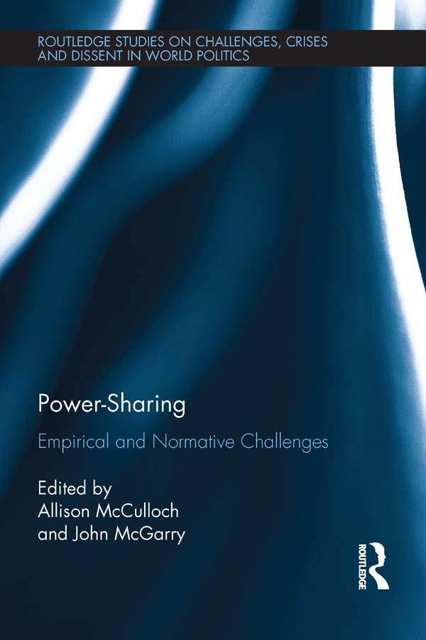 Power-Sharing als eBook Download von
