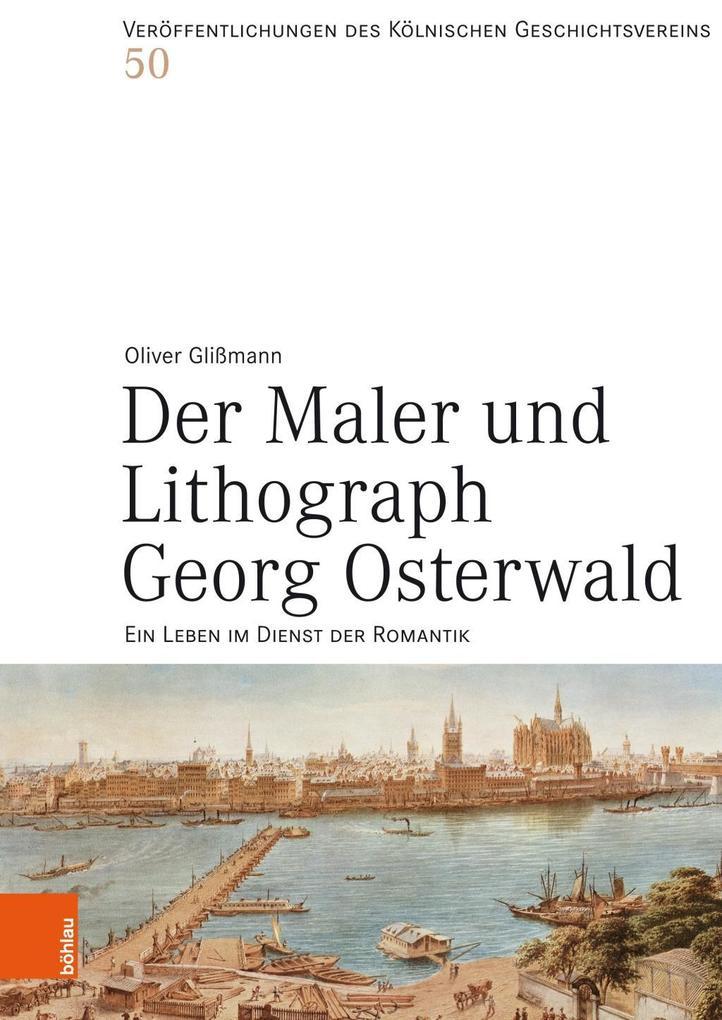 Der Maler und Lithograph Georg Osterwald als Bu...