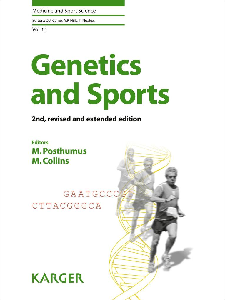 Genetics and Sports als eBook Download von