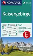 Kaisergebirge 1:50 000